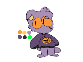 halloween cat by spacescoob