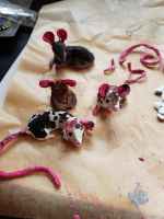 Fimo Mice - WIP 2 by JB-Pawstep