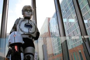 Wheatley (Portal 2), Ohayocon 2014 by geekypandaphotobox