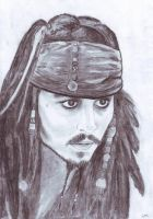 Captain Jack Sparrow by MKoji