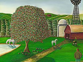 Farm From Imagination by StephenL