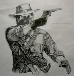 Red Dead Redemption by aspirin111