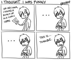 I thought I was funny by PlaidSheep