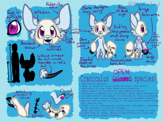 Craniculus (OPEN Species) by ThisAccountIsDead462