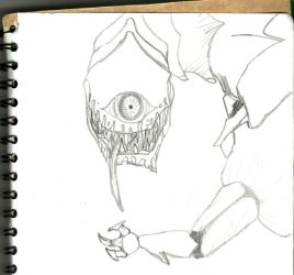 Cyclopic weired monster by HappyMilkXD