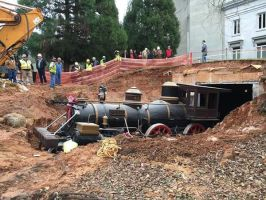 Train dug up in atlanta by TenShine1Production