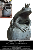 Frog King PNG by CD-STOCK by CD-STOCK