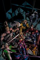 Dark Avengers 10 Cover by MikeDeodatoJr