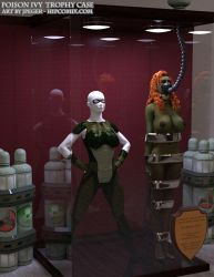 Poison Ivy Trophy Case by thejpeger