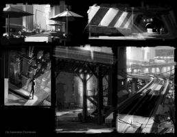 Thumbnails - City Exploration by SnakeToast