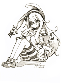 Sketch trade: Hase by arielucia
