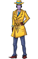 Detective Hue- frontview by AngelsMelodie