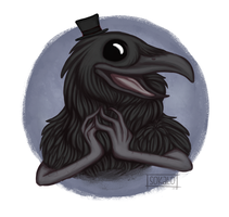This Charming Crow by Sokalo