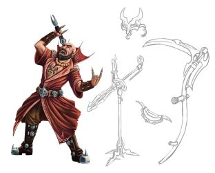 Metal Warlock Concept by Jackwrench