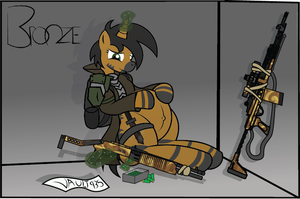 Bronze and Vault 935 (FO:E Preg) by BronzePony