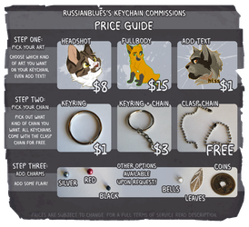 Keychain Commission Prices - CLOSED FOR NOW by RussianBlues