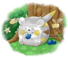 Pokemon Sun and Moon - Togedemaru and Cutiefly