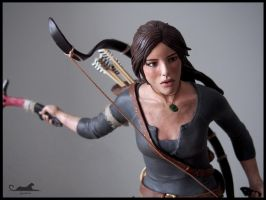:.Miss Croft - Close up.: by XPantherArtX