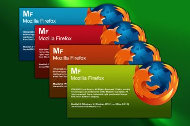 Firefox Splash Screen by Noki07