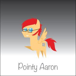Pointy Aaron (requested by Jack-Rabbit2) by miipack603