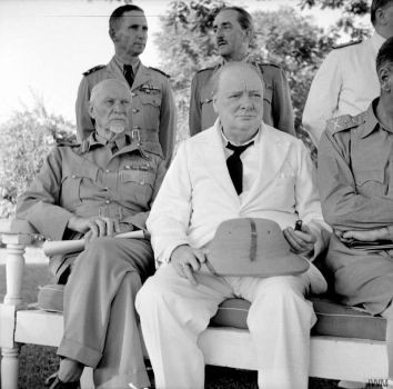 Jan Smuts and Winston Churchill by YamaLama1986