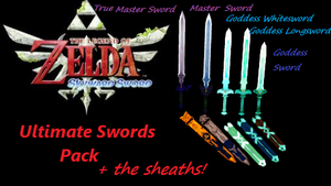The Legend of Zelda Ultimate Swords Pack DL by Vocaloid-Sora