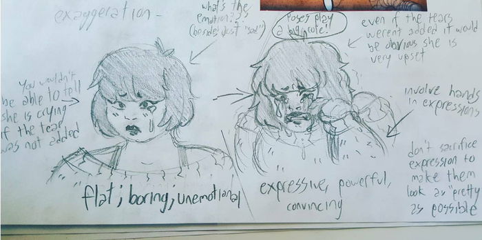 a few pointers on expression (featuring yui) by Mewtres