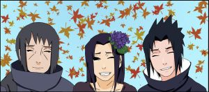 Uchiha family by X-Ray99