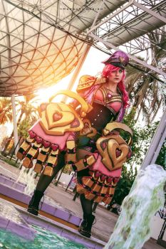 Vi PopStar - League of Legends - 4 by Atsukine-chan