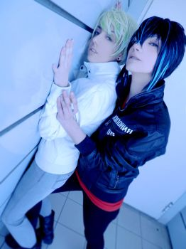 Cain and Abel cosplay - Stafighter by EternityPB