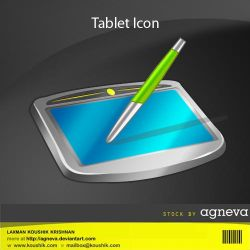 Tablet Icon by agneva