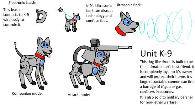 Unit K-9 by Baumbs