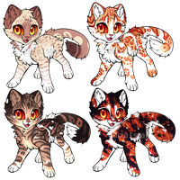 Kitty Cat Auction 1 || CLOSED by Chintzy-Adopts
