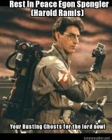 Rest in peace A Tribute to the great Harold Ramis by Kakaider