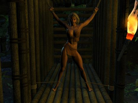 Jungle Girl Captured by SinisterMarauder