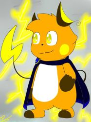 Ray The Raichu(Updated) by Predu92