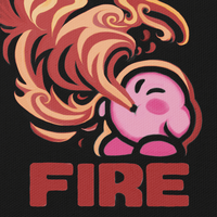 Kirby Fire by likelikes