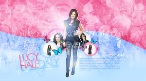 Lucy Hale Layout by littlebutterflyxxx