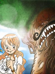 One Piece Chapter 843+Spoilers by Amanomoon