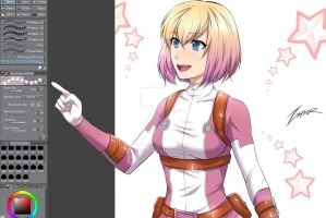 Gwenpool by Zxpfer