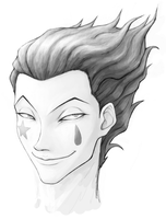 Hisoka by BurntOutPixel