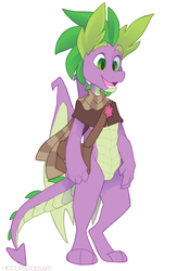 Spike - Secretary of State by HiccupsDoesArt