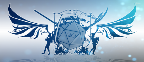 D20 Coat of Arms by badmichel