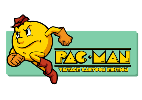 pac man  vintage cartoon edition by Shayeragal