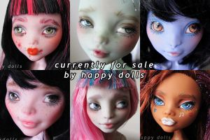 First doll batch on etsy by hellohappycrafts