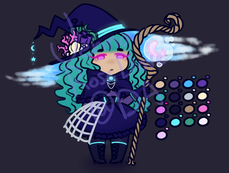 DEEP SEA WITCH ADOPT: OPEN by JennaRoseDove