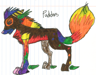 Pudders: Redesign by The-Little-Squid