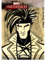 Gambit Artist Proof Card by DaveStrong