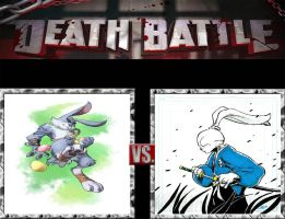 Request #109 Bunnymund vs Miyamoto by LukeAlanBundesen