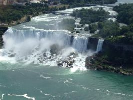 American Falls by AlliCali